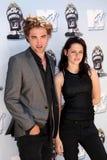 Kristen斯图尔特,罗伯特Pattinson 免版税库存照片