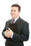 Kristen affärsman royaltyfri foto