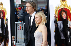 Kristen Bell and Dax Shepard Royalty Free Stock Photo