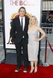 Kristen Bell and Dax Shepard stock photos