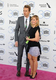 Kristen Bell & Dax Shepard Royalty Free Stock Photography