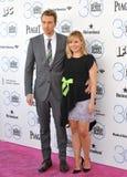 Kristen Bell & Dax Shepard Stock Photos