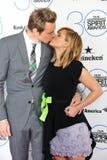 Kristen Bell & Dax Shepard Stock Images