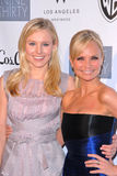 Kristen Bell,Kristin Chenoweth Royalty Free Stock Photo