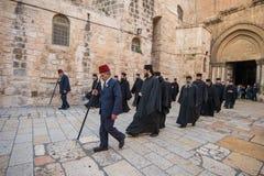 Kristen ceremoni royaltyfria bilder