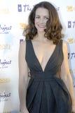 Kristen Davis no tapete vermelho Fotografia de Stock Royalty Free