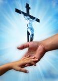 kristen förälskelse arkivfoto