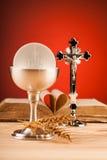 Kristen helig nattvardsgång royaltyfria foton