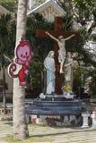 Kristen i den Ho Chi MInh staden Arkivbilder