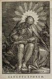 Kristen illustration Gammalt avbilda royaltyfri bild