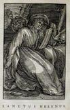Kristen illustration Gammalt avbilda royaltyfria bilder