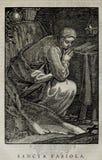 Kristen illustration Gammalt avbilda arkivbilder