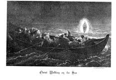 Kristen illustration Gammalt avbilda royaltyfri fotografi