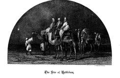 Kristen illustration Gammalt avbilda arkivbild