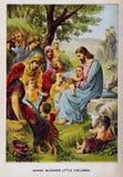 Kristen illustration Gammalt avbilda fotografering för bildbyråer