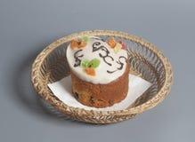 Kristen kaka för påsk arkivbilder