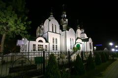 Kristen kyrka Armavir Ryssland arkivbild