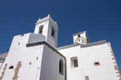 Kristen kyrka av Santiago arkivbild