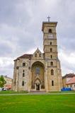 Kristen kyrka i Alba Iulia, Rumänien royaltyfri foto
