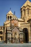 Kristen kyrka i Armenien, Yerevan fotografering för bildbyråer
