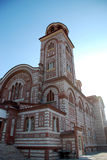 Kristen kyrka i Nea Kalikratea, Grekland Royaltyfri Bild