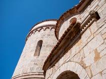 Kristen kyrka, Krk, Kroatien Arkivfoton