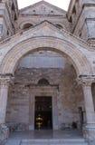 Kristen kyrka på den bibliska monteringen Tabor, Galilee fotografering för bildbyråer