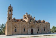 Kristen kyrka, St Mary, Lysi by Cypern Royaltyfri Foto