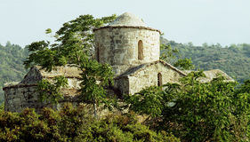 kristen kyrkliga cyprus Royaltyfri Foto