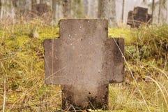 Kristen kyrkogård arkivfoton