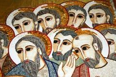 Kristen mosaik Royaltyfri Fotografi