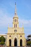 Kristen Neo-Gotisk kyrka Royaltyfri Bild