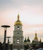 Kristen ortodox domkyrka Arkivfoto