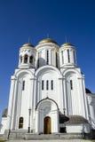 Kristen ortodox kloster Royaltyfria Foton