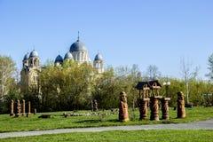Kristen ortodox kloster Royaltyfri Fotografi