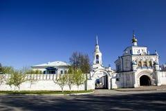 Kristen ortodox kloster Fotografering för Bildbyråer