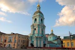 Kristen ortodox kyrka, Moskva, Ryssland arkivbilder