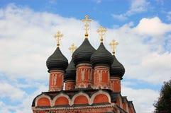 Kristen ortodox kyrka, Moskva, Ryssland royaltyfria foton