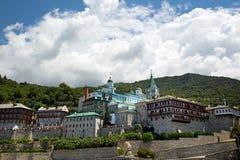 Kristen relikskrin på Mount Athos Fotografering för Bildbyråer