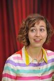 Kristen Schaal, los Muppets Imagen de archivo libre de regalías