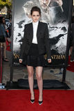 Kristen Stewart arrives at the 'Snow White And The Huntsman' Los Angeles screening Royalty Free Stock Photo