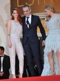 Kristen Stewart & Chloe Grace Moretz & Olivier Assayas Stock Image