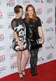 Kristen Stewart et Julianne Moore Image stock