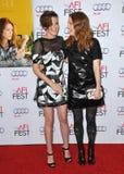 Kristen Stewart et Julianne Moore Image libre de droits