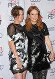 Kristen Stewart et Julianne Moore Photographie stock libre de droits