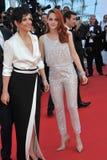Kristen Stewart & Juliette Binoche Royalty Free Stock Images
