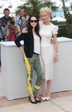 Kristen Stewart and Kirsten Dunst Stock Photography