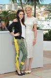 Kristen Stewart & Kirsten Dunst Royalty Free Stock Photos