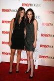 Kristen Stewart,Nikki Reed Royalty Free Stock Photos