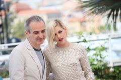 Kristen Stewart, Olivier Assayas. Attend the 'Personal Shopper' - Photocall at the annual 69th Cannes Film Festival at Palais des Festivals on May 17, 2016 in Stock Image